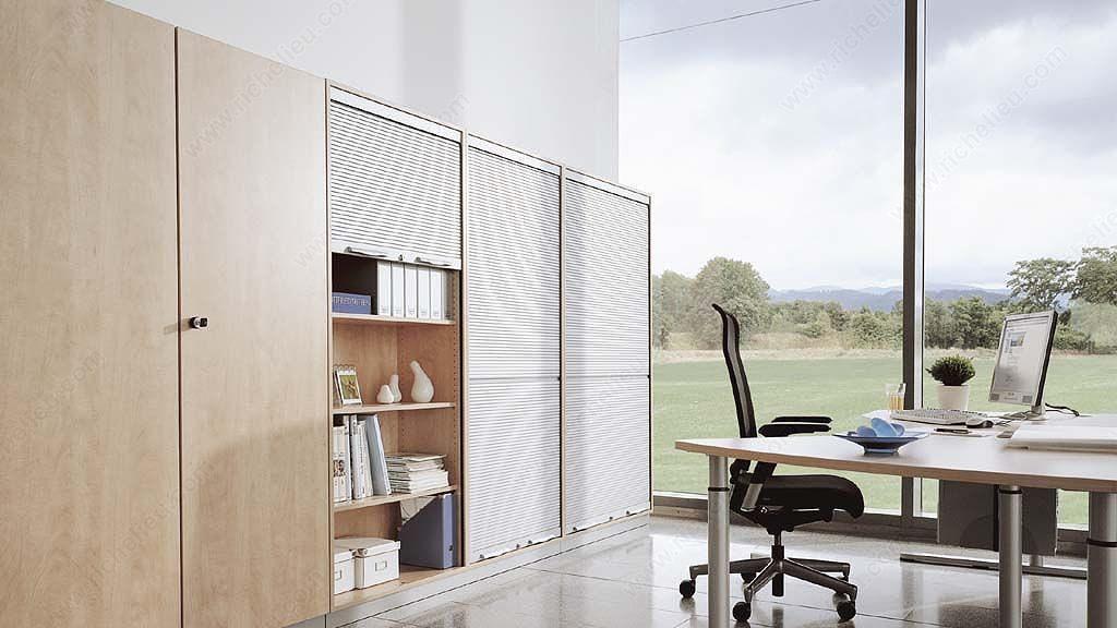 Espace bureau porte tambour verticale et horizontale for Porte tambour
