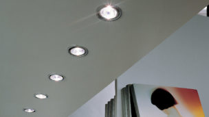 LED 3 W Recessed with Swivel