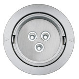 LED 3W Recessed Mounted