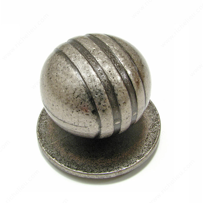 Contemporary Metal Knob - 982-1