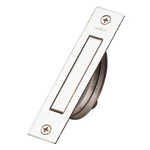 Contemporary Recessed Stainless Steel Pull - 7509