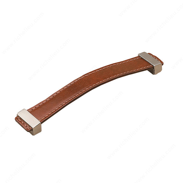 Contemporary Leather Pull 7453 Richelieu Hardware