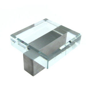 Glass City Collection - Glass & Metal Knob