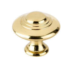 Traditional Brass Knob - 2448