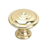Provençal Collection Brass Knob - 2449