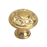 Louis XV Collection Brass Knob - 2440