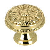 Louis XV Collection Brass Knob - 043