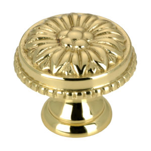 Traditional Brass Knob - 0433