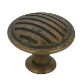 Art Deco Collection Metal Knob - 1693