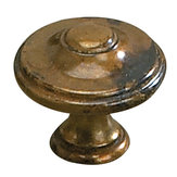 Povera Collection Brass Knob - 4083