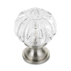 Eclectic Brass and Acrylic Knob - 4035