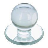 Contemporary Acrylic Knob for Glass Doors - 503