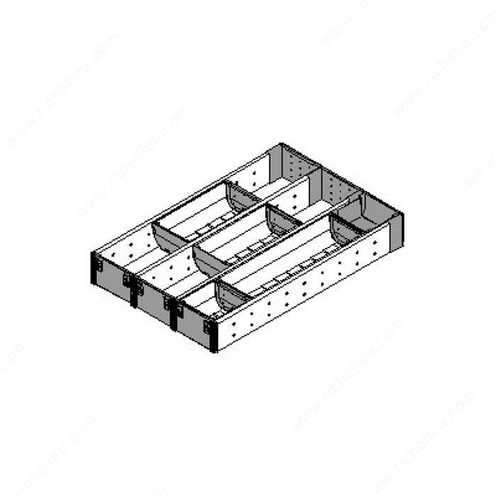 range couverts et casier ustensiles pour tiroir en bois quincaillerie richelieu. Black Bedroom Furniture Sets. Home Design Ideas