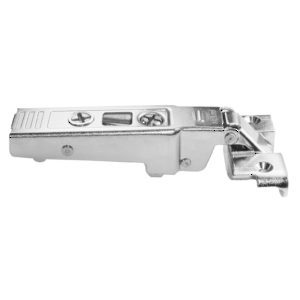 Screw-On Hinge - 95° for Aluminum Doors - Self-Closing