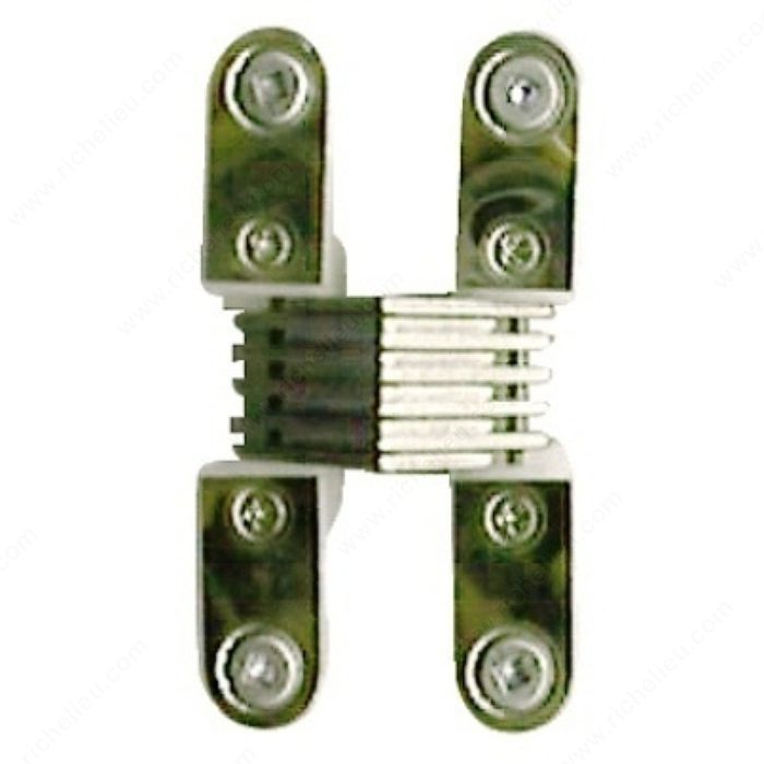 Plastic concealed hinge with 180 opening angle for Ouverture pvc