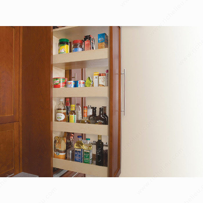 Pull Out Pantry Hardware: Series 301-2590 Pull-Out Pantry Slide