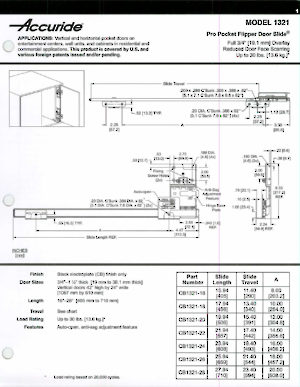 Series 1321 Pro Pocket Door Slide Richelieu Hardware
