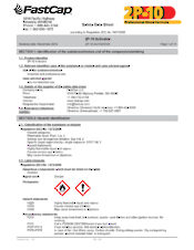 US Material safety data sheets