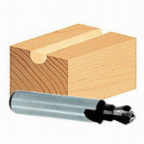 Router Bit for Furniture Connectors