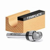 Core Box Bit Template