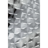 Decorative Metal Sheet - Stainless Steel, Round Motifs
