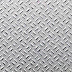 Decorative Metal Sheet - Brushed Aluminum