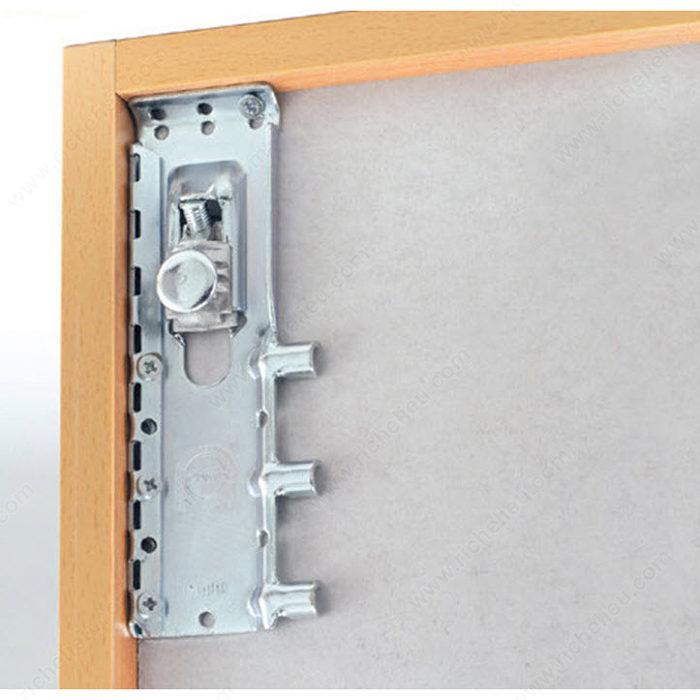 Hanging Upper Kitchen Cabinets: Concealed Hanging Bracket