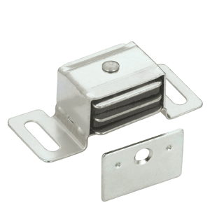 Double Magnetic Aluminum Catch