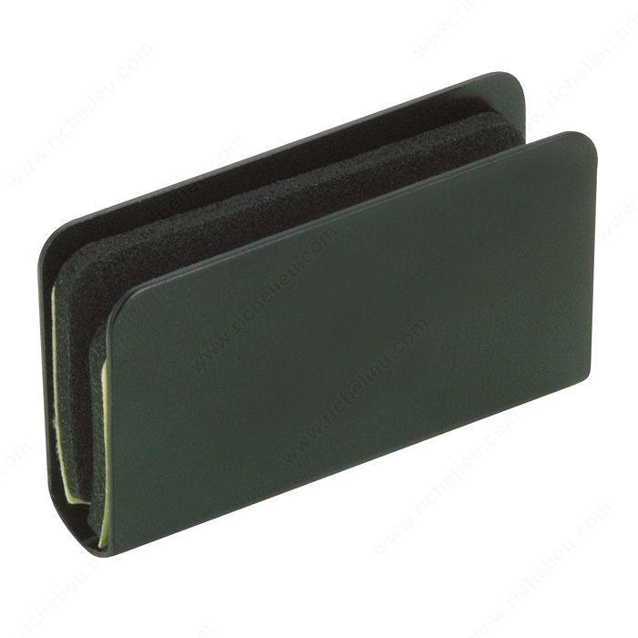 Plaque pour loquet magn tique ressort sur porte en verre for Acheter plaque de verre