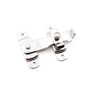 Spring-Loaded Bar Latch