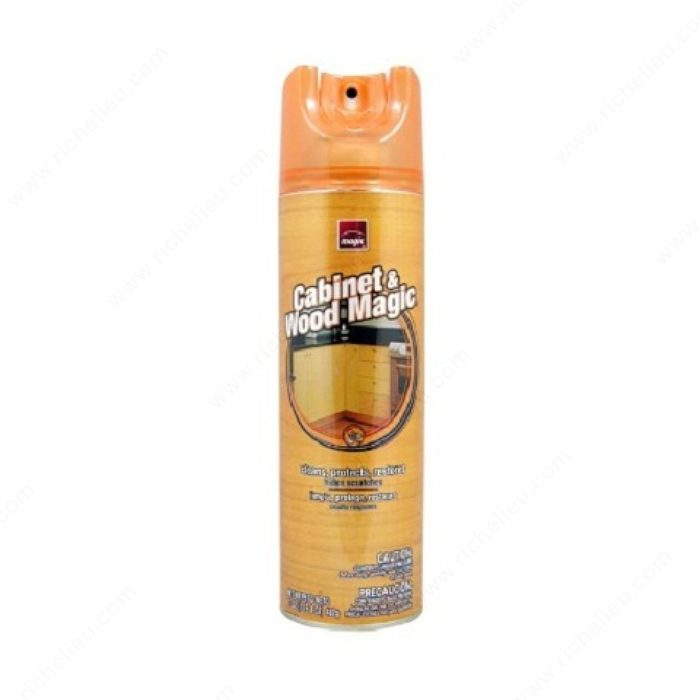 Cabinet magic cleaner richelieu hardware for Best cleaner for grease on kitchen cabinets
