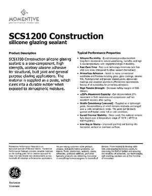 GE SCS1200® Silicone Sealant - Richelieu Hardware