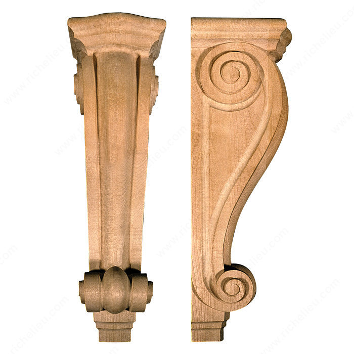 Mission And Shaker Corbel Ms18 Richelieu Hardware
