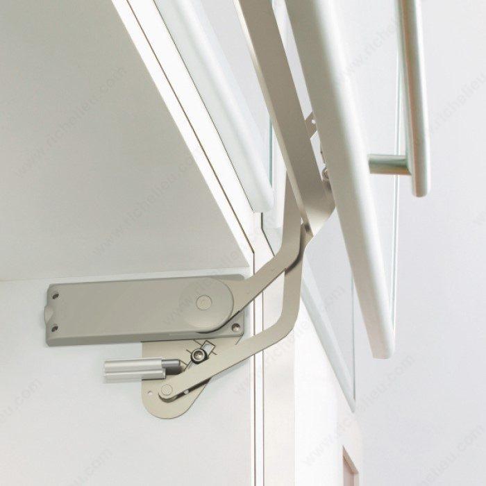Syst me pour porte escamotable lift quincaillerie richelieu for Porte lift and slide