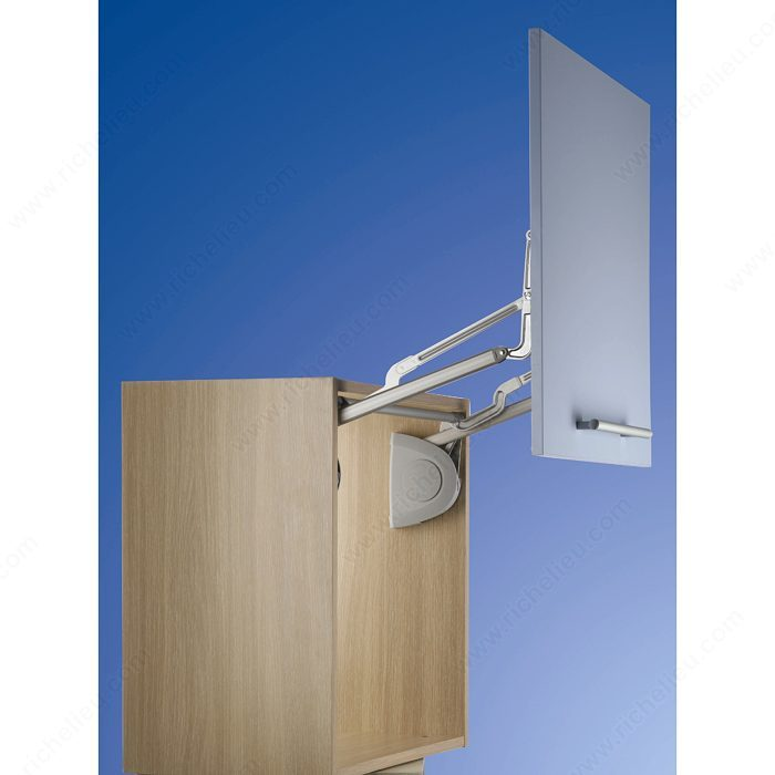 Syst me de porte vertical quincaillerie richelieu for Porte lift and slide