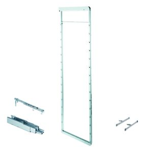 Frame, Door Mounting Brackets, and Slides for Dispensa