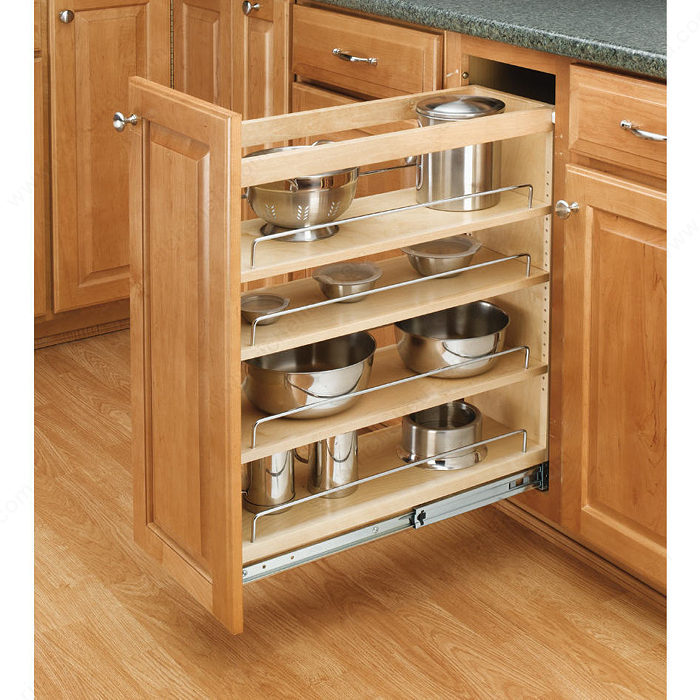 Pull Out Kitchen Storage: Pull-Out Organizer For Base Cabinet