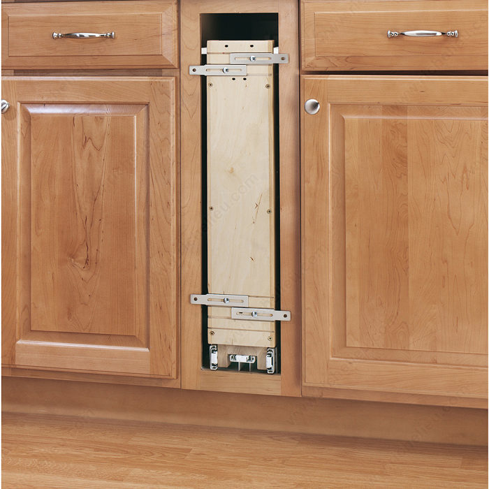 Kitchen Cabinet System: Pull-Out Organizer For Base Cabinet