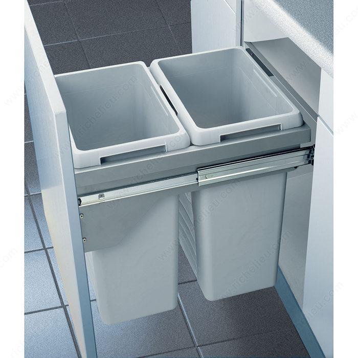 Syst me de recyclage euro cargo quincaillerie richelieu - Systeme poubelle coulissante ...