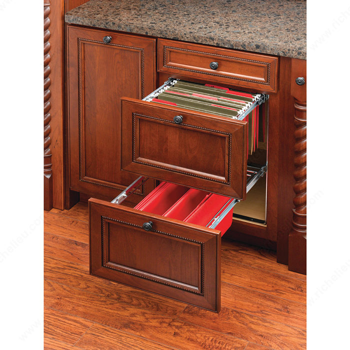 file drawer hardware door mounted filing system richelieu hardware 15384