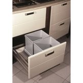 Wastebin Drawer - 2 x 16L