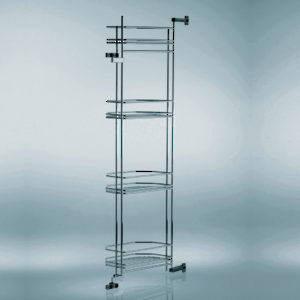 Chrome Door Shelves - Minimum Interior Height 1700 mm