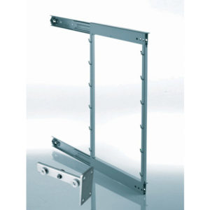 Comfort Frame with Brackets for Metal Basket at 90°