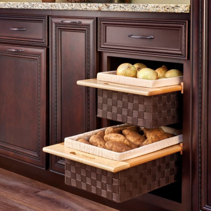 Pull Out Woven Basket Richelieu Hardware