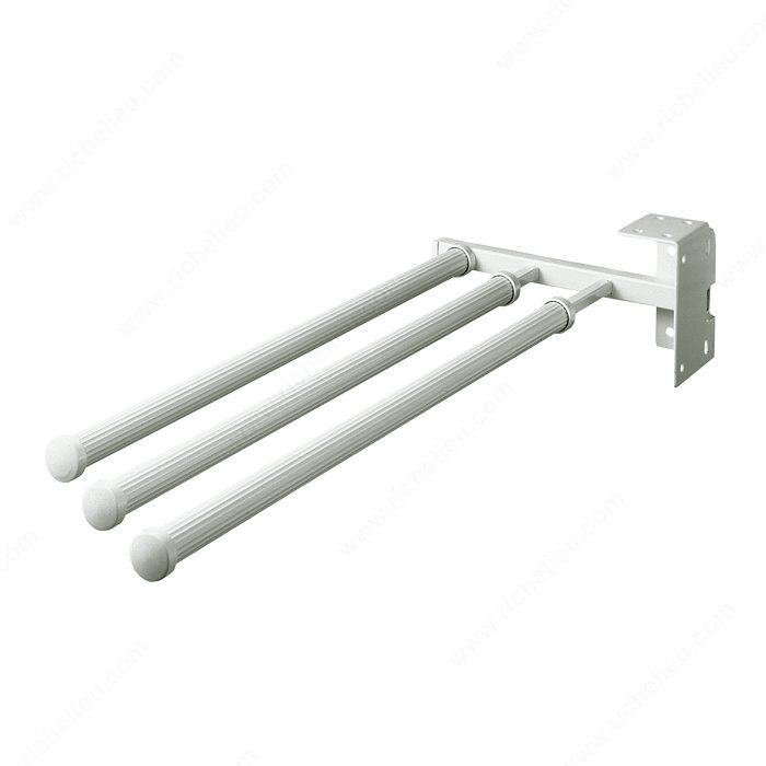 pullout towel rack