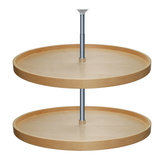 Kit de 2 estantes redondos Lazy Susan