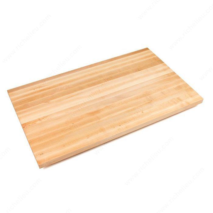 Dessus de comptoir en bois solide quincaillerie richelieu - Dessus de comptoir en bois ...