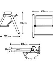 Folding Step Stool Richelieu Hardware