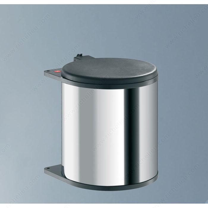 poubelle aluminium interesting poubelle inox litres. Black Bedroom Furniture Sets. Home Design Ideas