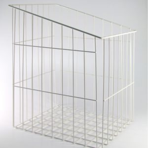 Tilt-Out Wire Hamper